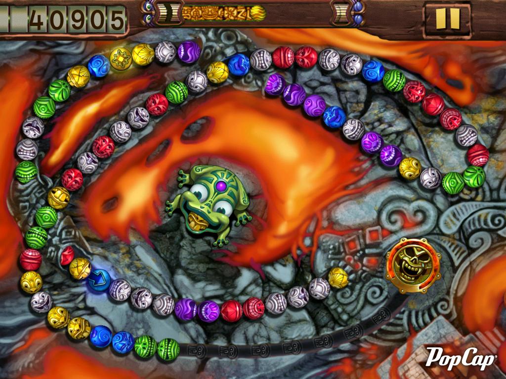 Скриншот Zuma's Revenge (2009) PC
