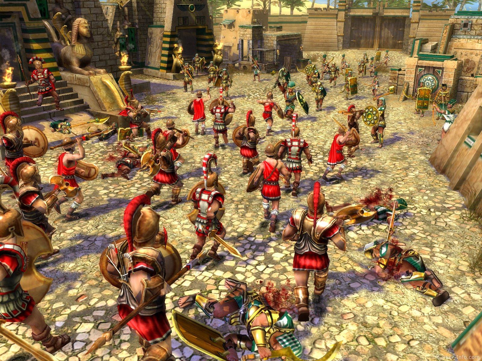 войны древности спарта играть онлайн