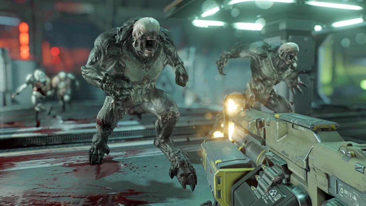 Скриншот Doom (2016) PC
