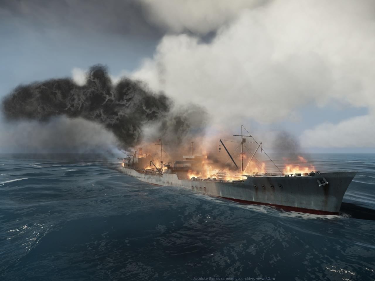 Скриншот Silent Hunter 5: Battle of the Atlantic (2010) PC