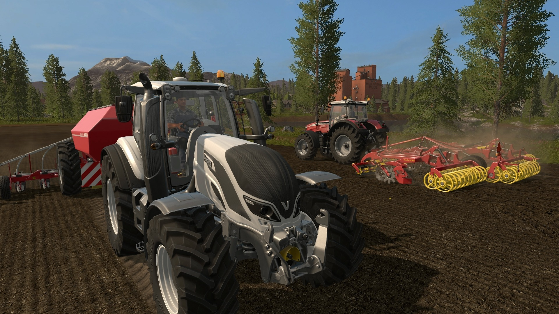 Скриншот Farming Simulator 17 [v 1.4.4 + DLC's] (2016) PC