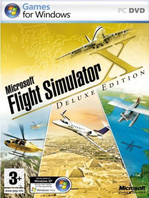 Microsoft Flight Simulator X: Deluxe Edition (2007) PC
