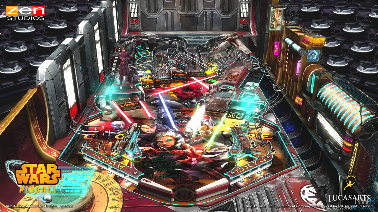 Скриншот Pinball FX2 Star Wars (2017) PC