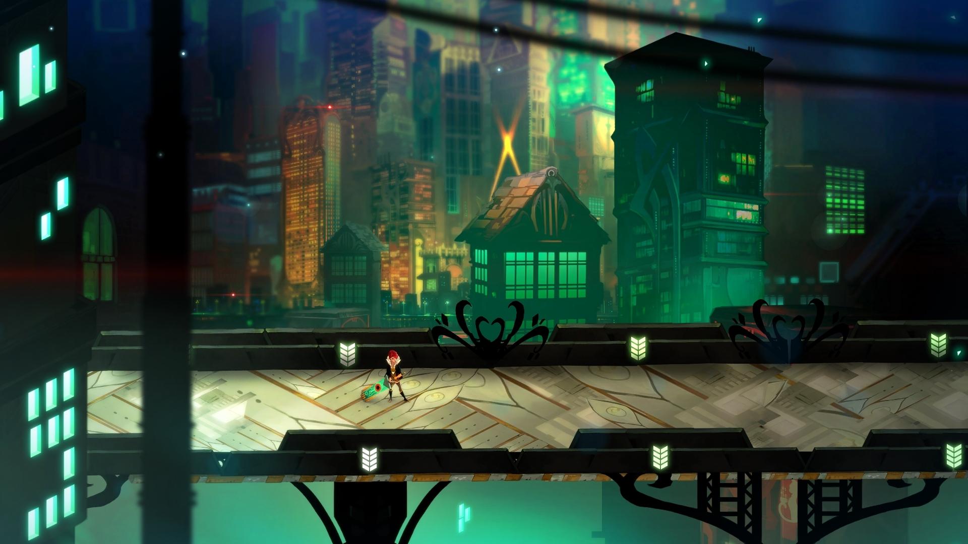 Скриншот Transistor (2014) PC