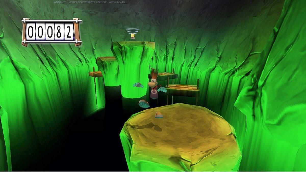 Скриншот Rayman 3. Hoodlum Havoc (2003) PC