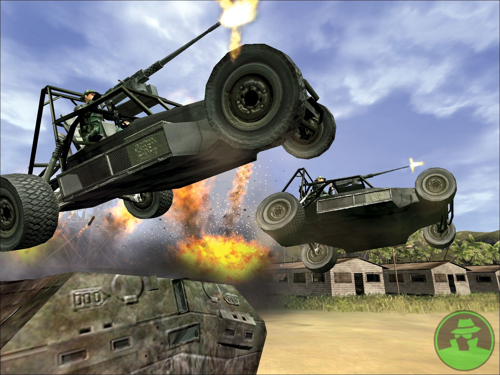 Скриншот Delta Force: Xtreme (2005) PC