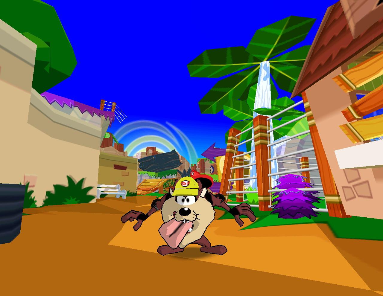 Скриншот Taz Wanted (2002) PC