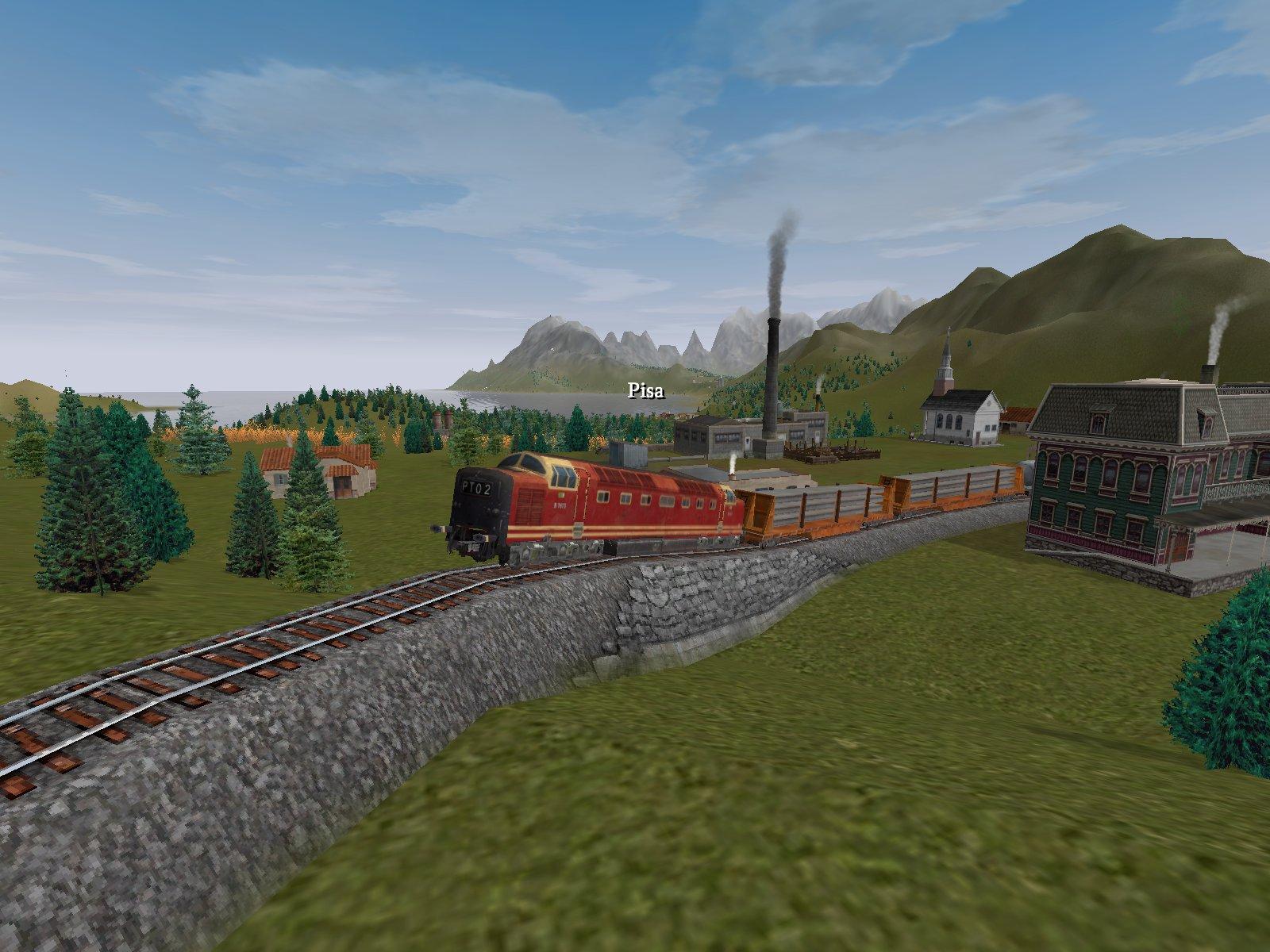 Скриншот Railroad Tycoon 3 (2004) PC