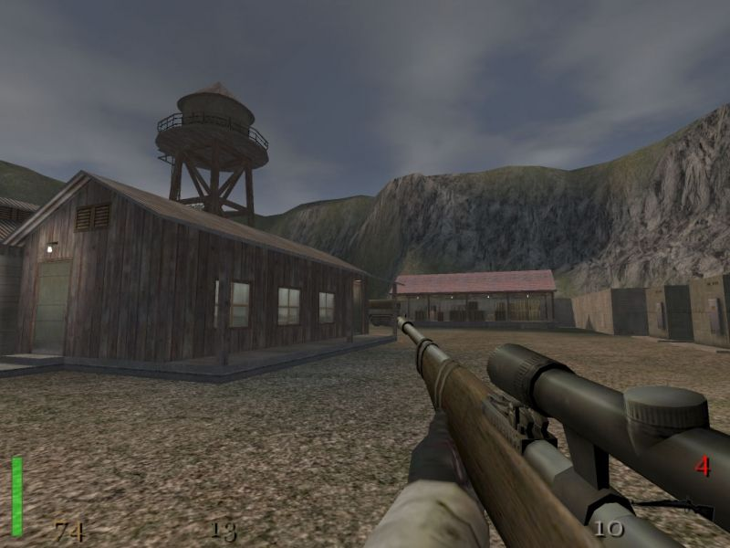 Скриншот Return to Castle Wolfenstein: Призраки войны (2005) PC