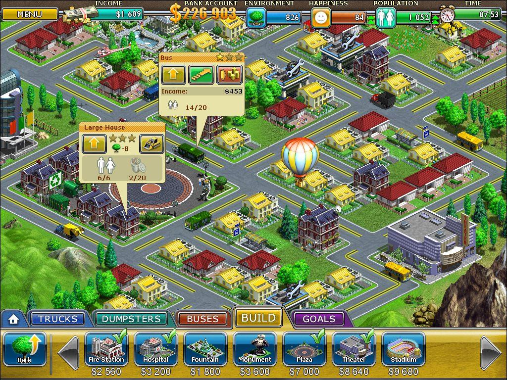 Скриншот Виртуальный Город / Virtual City (2010) PC