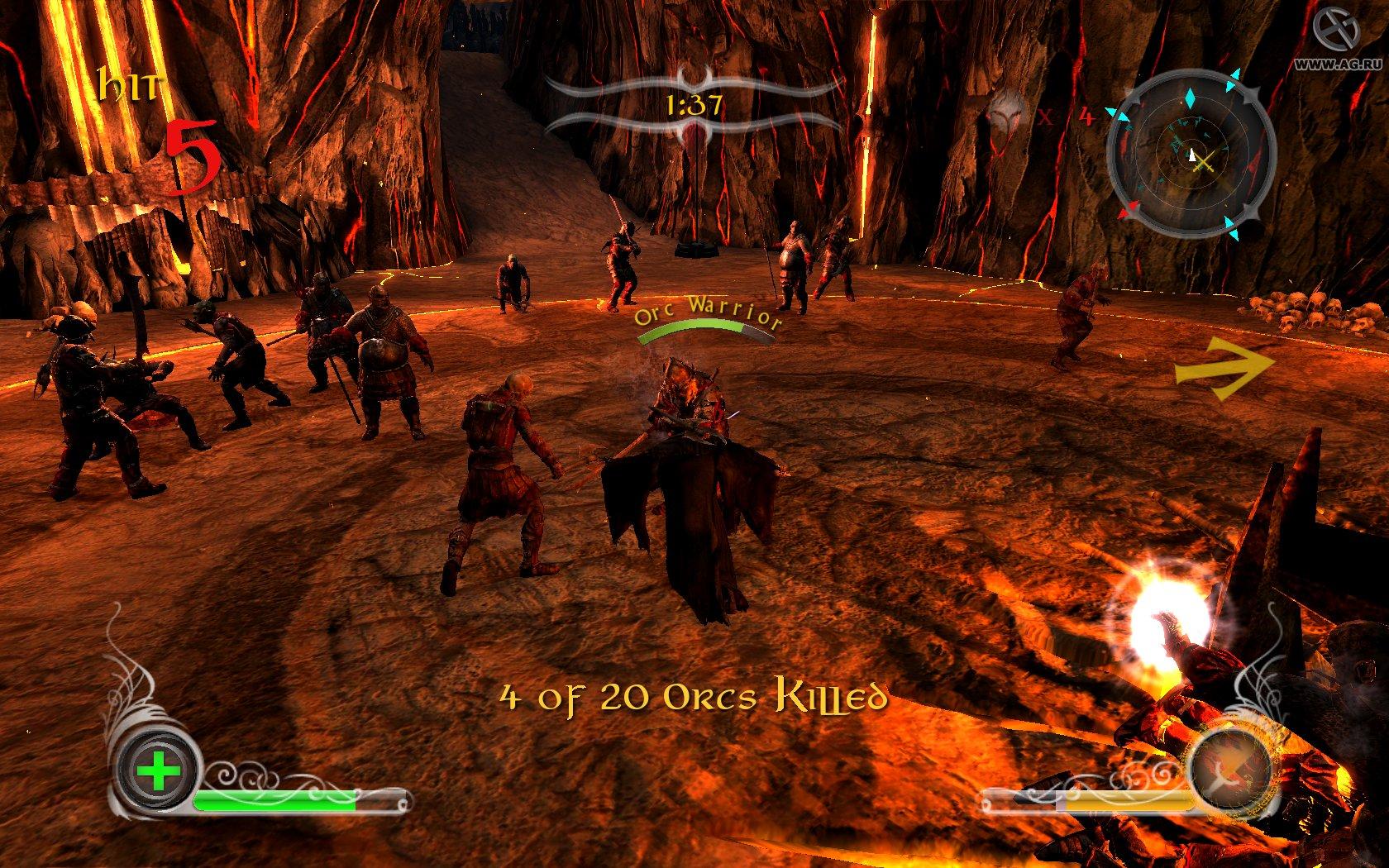 Скриншот Lord Of The Rings: Conquest (2009) РС   RePack от R.G. Механики