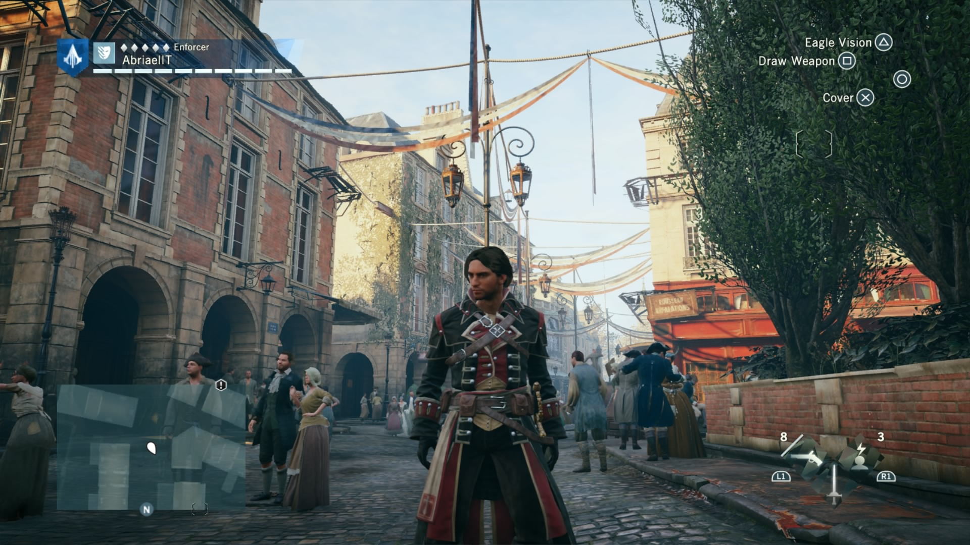 Скриншот Assassin's Creed Unity [v 1.5.0 + DLCs] (2014) PC | RePack от R.G. Механики