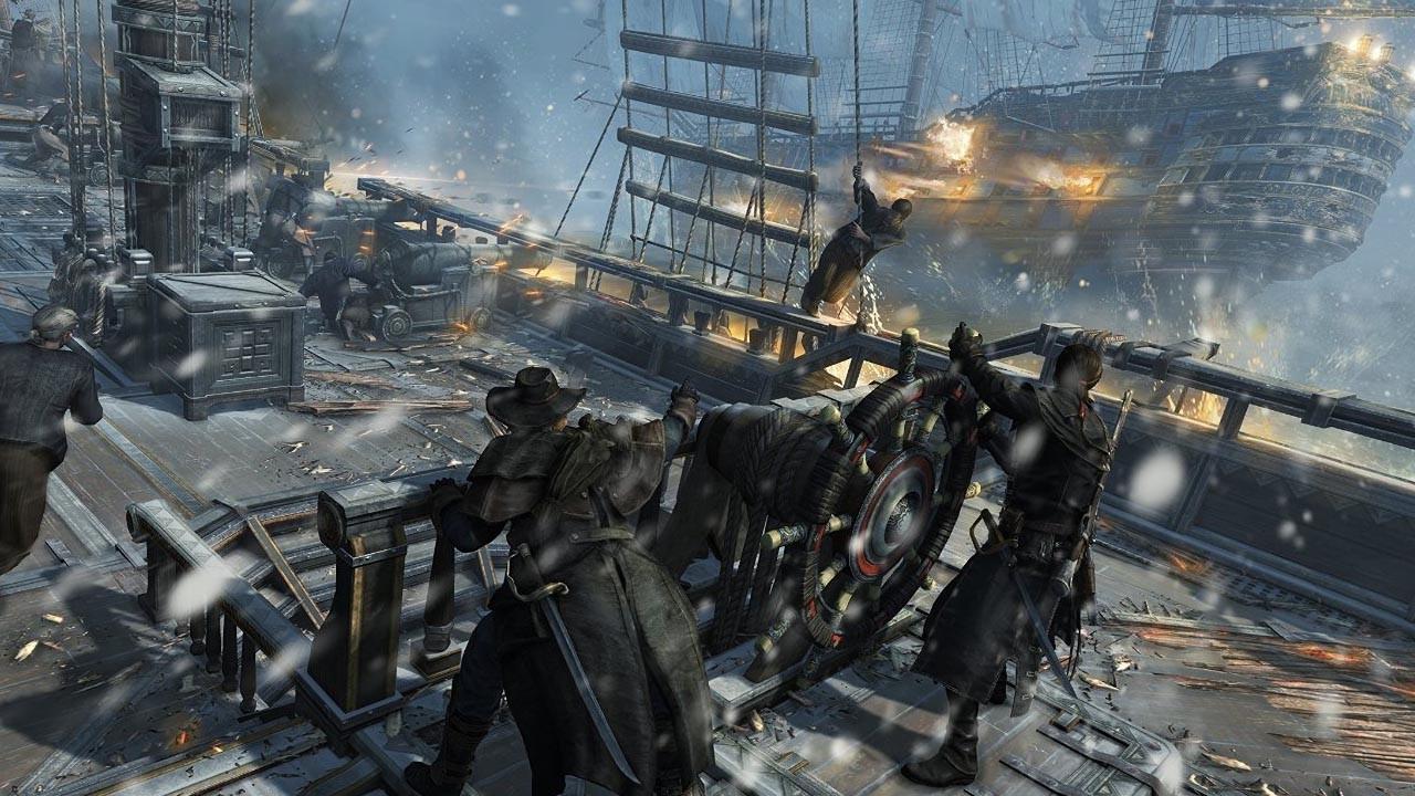 Скриншот Assassin's Creed: Rogue (2015) PC | RePack от R.G. Механики