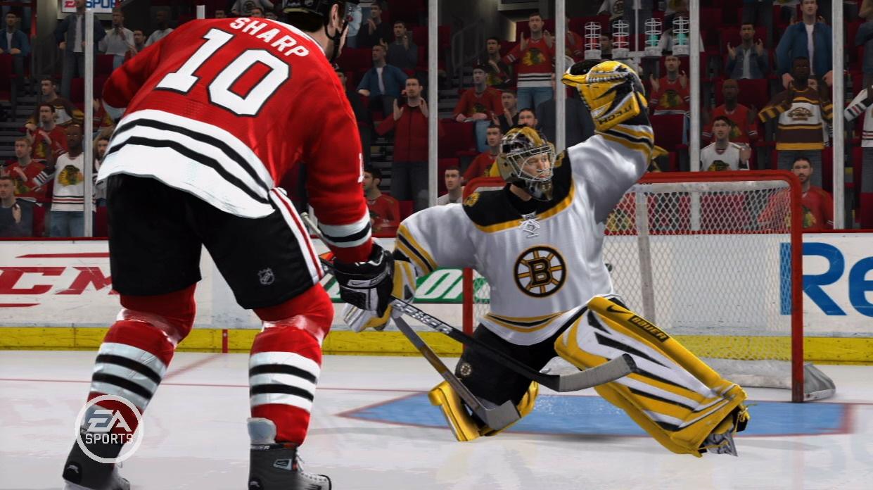 Скриншот NHL 09 (2008) PC | RePack от R.G. Механики