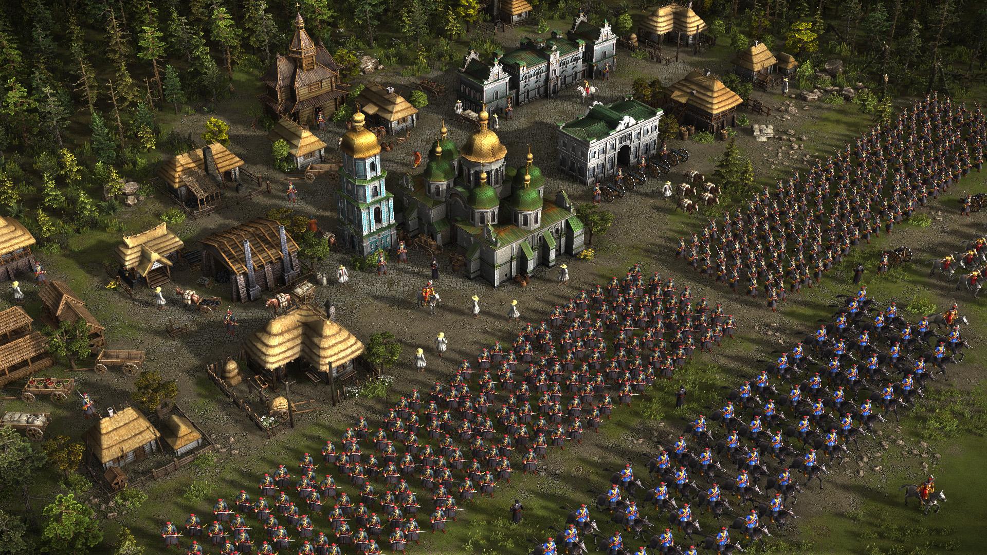 Скриншот Казаки 3 / Cossacks 3 [v 1.8.7.81.5664 + 7 DLC] (2016) PC | RePack от R.G. Механики
