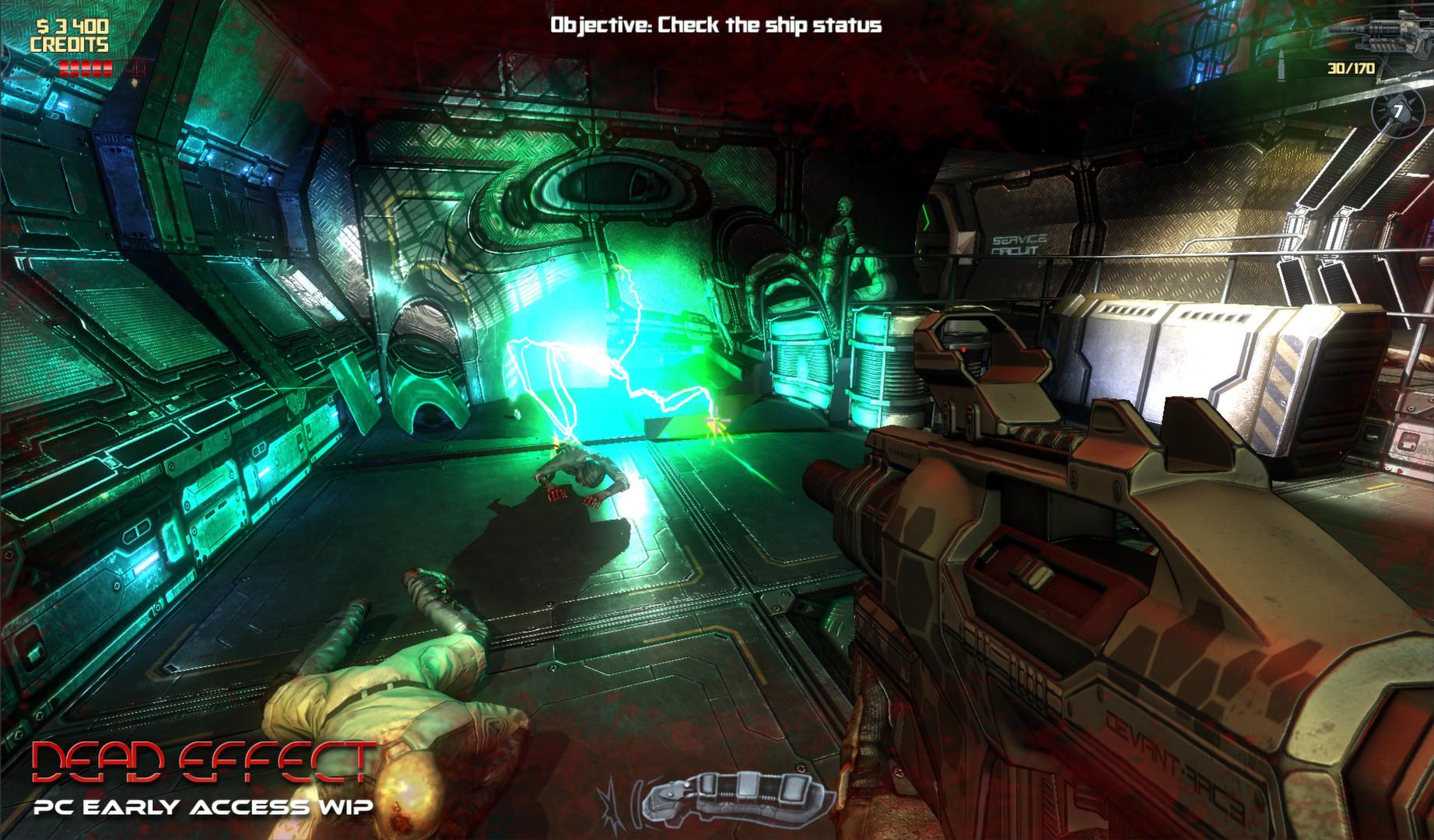 Скриншот Dead Effect (2014) PC