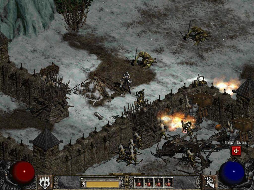 Скриншот Diablo II: Lord of Destruction (2001) PC   RePack от R.G. Механики