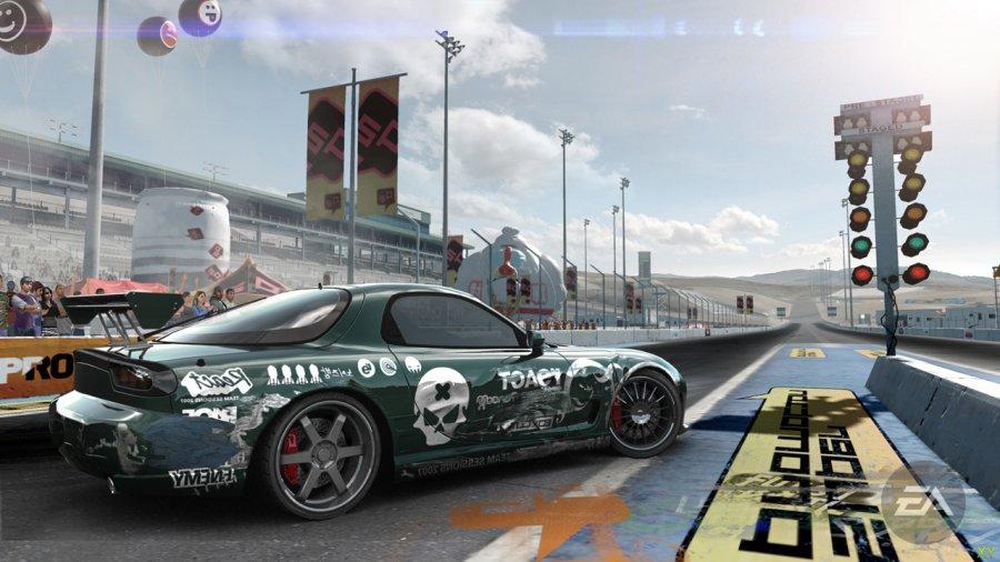 Скриншот Need for Speed: ProStreet (2007) PC
