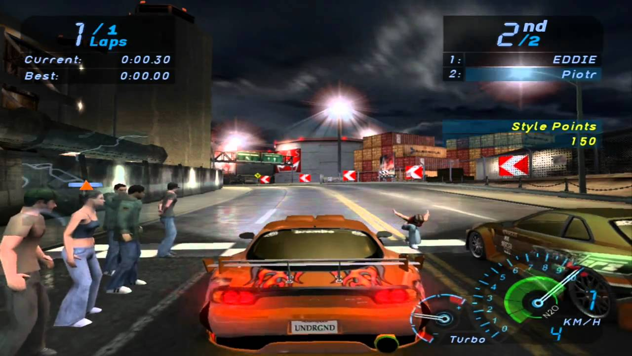 Скриншот Need for Speed: Underground - Dilogy (2003-2004) PC | RePack от R.G. Механики