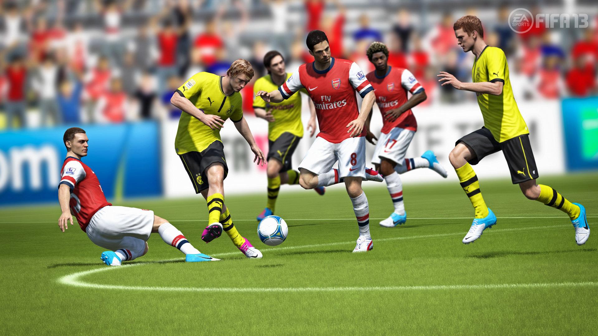 Скриншот FIFA 13 (2012) PC