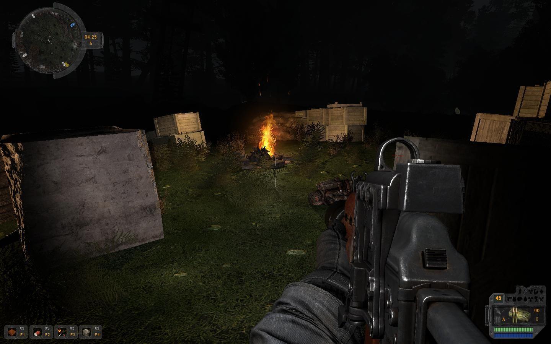 Скриншот S.T.A.L.K.E.R.: Call of Pripyat - Пространственная аномалия (2014) PC
