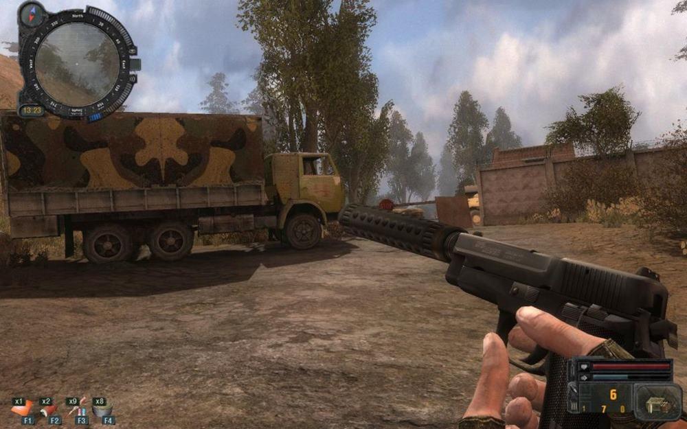 Скриншот S.T.A.L.K.E.R. Новая Война (2007) PC