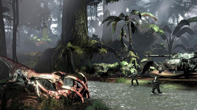 Скриншот Турок / Turok (2008) PC