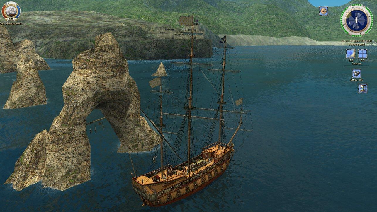 Скриншот Корсары: Каждому своё / Sea Dogs: To Each His Own [v 1.5.1 + 3 DLC] (2012) PC