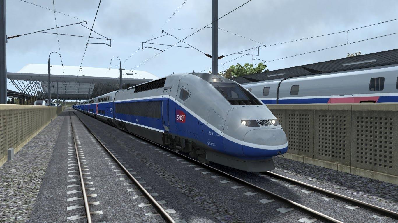 Скриншот Train Simulator 2017 Pioneers Edition [58.3a] (2016) PC