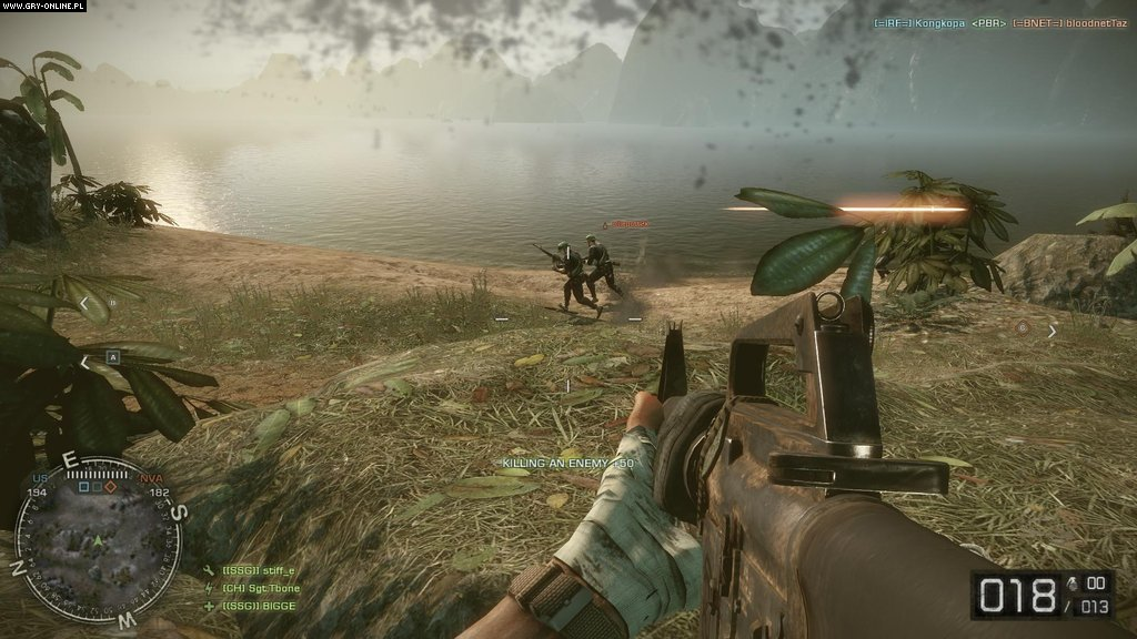 Скриншот Battlefield: Bad Company 2 Vietnam (2010) PC