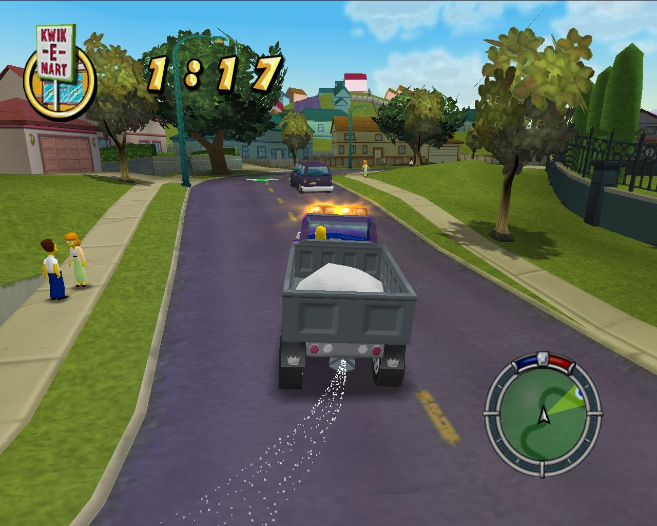 Скриншот The Simpsons: Hit & Run (2003) PC | RePack от R.G. Механики