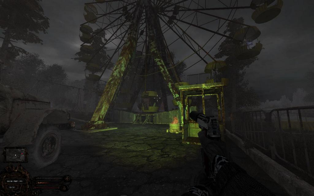S. T. A. L. K. E. R. : зона поражения 2 ответный удар другой поход.