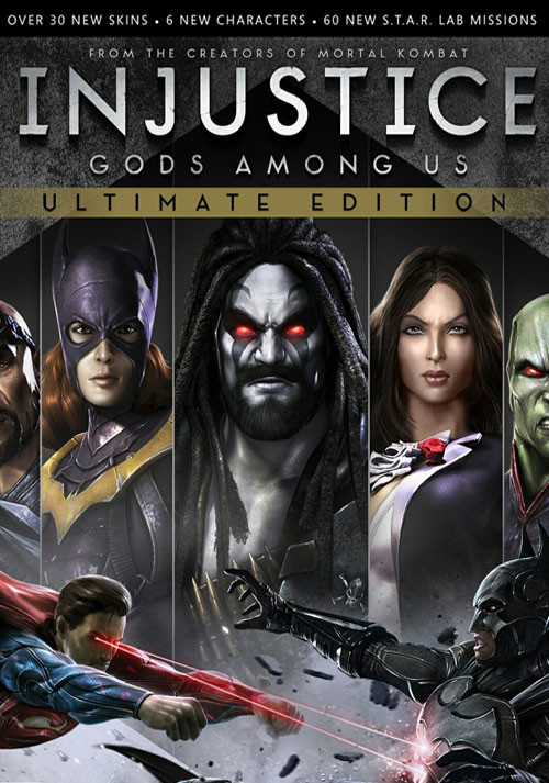 Injustice: Gods Among Us. Ultimate Edition [Update 5] (2013) PC