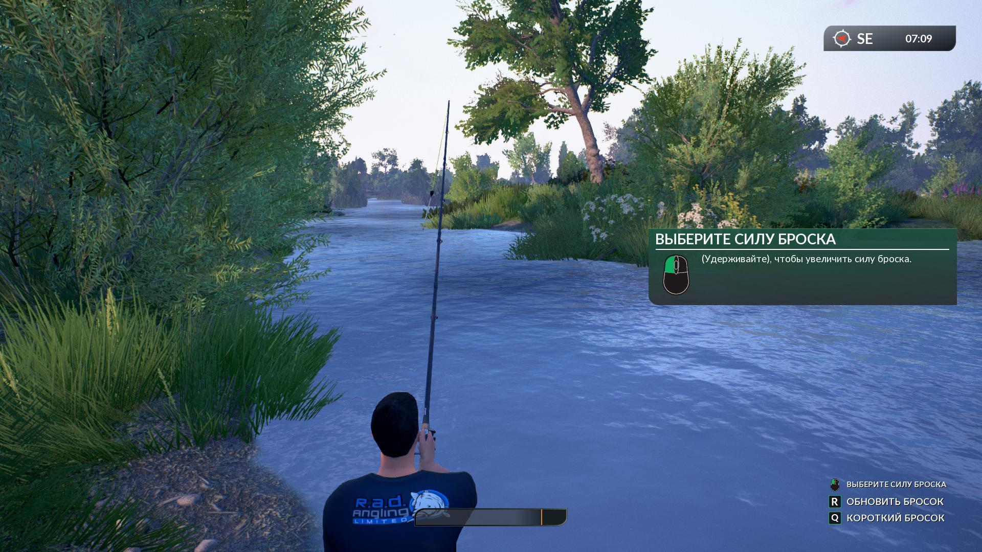 Скриншот Euro Fishing: Foundry Dock (2015) PC