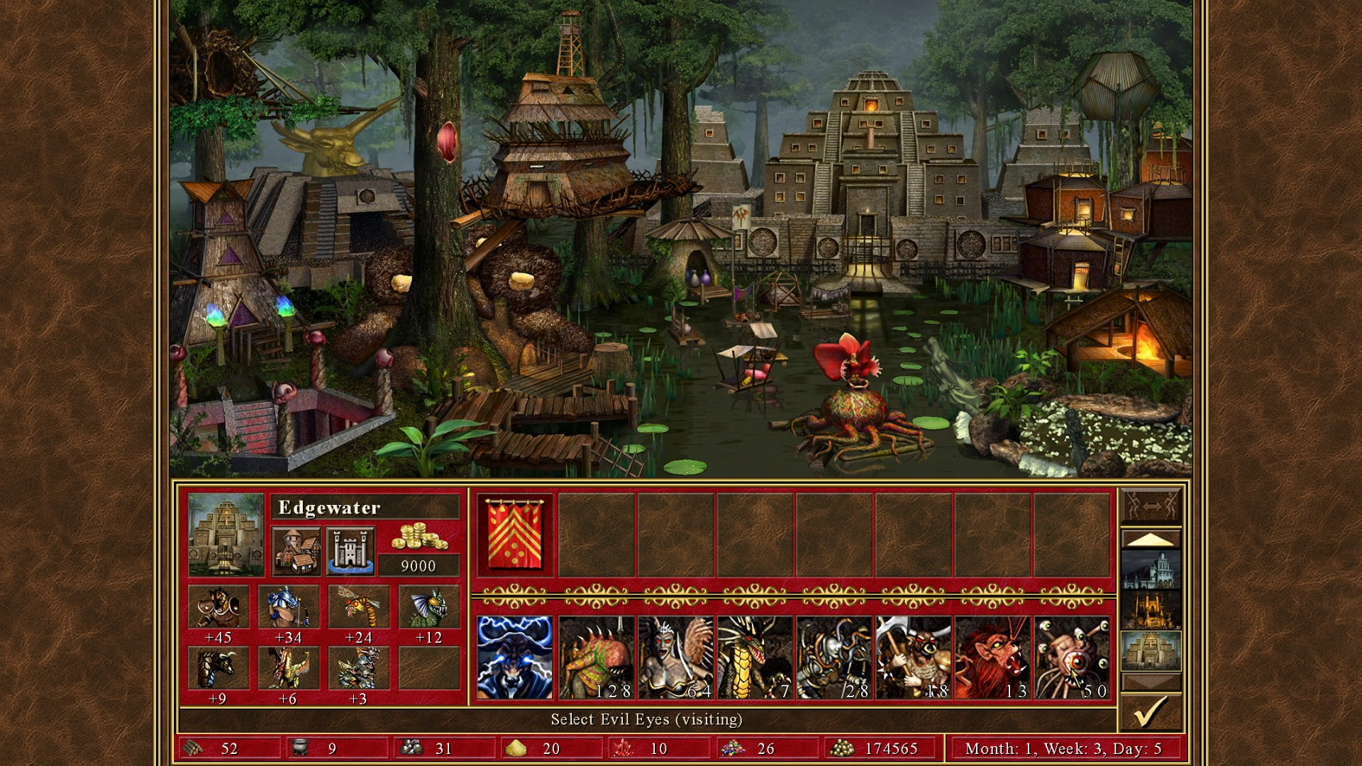 Скриншот Heroes of Might & Magic III – HD Edition (2015) PC