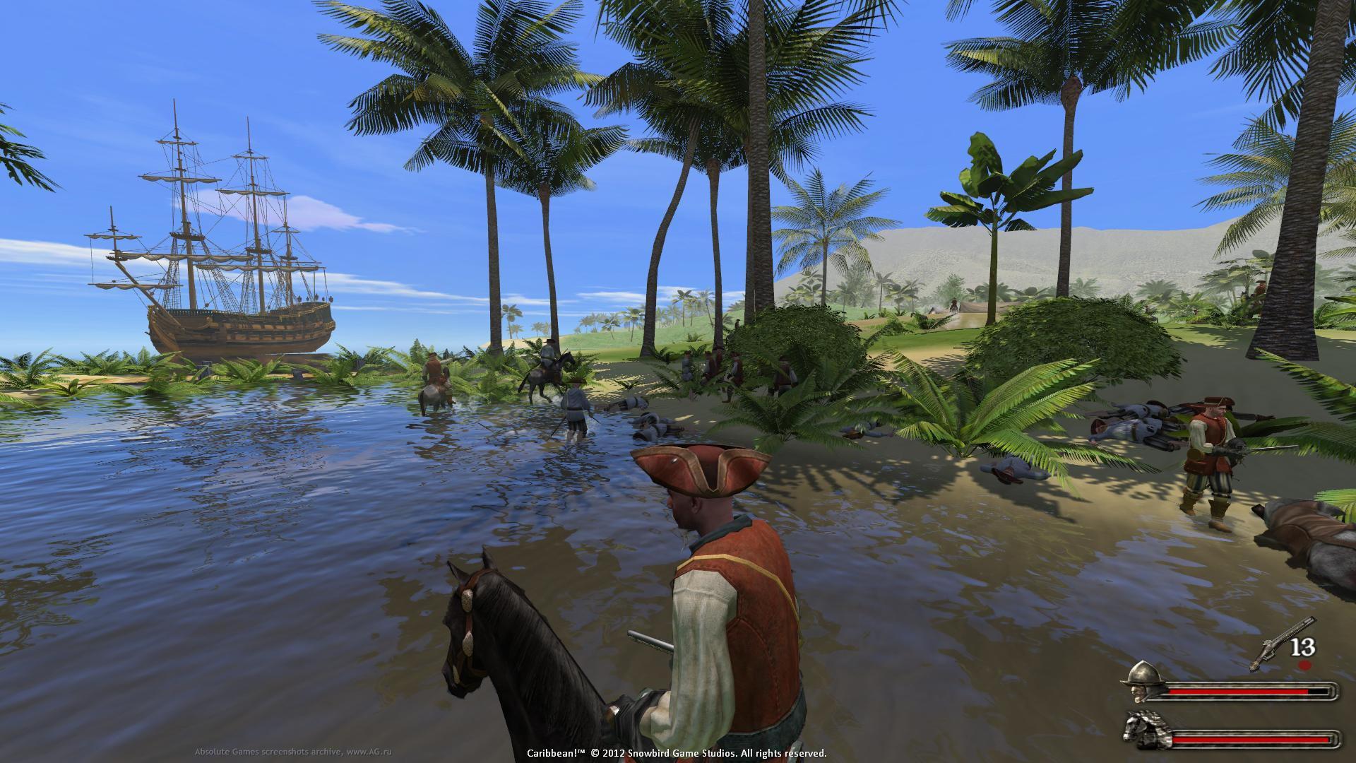 Скриншот Огнём и мечом 2: На Карибы! / Caribbean! (2015) PC