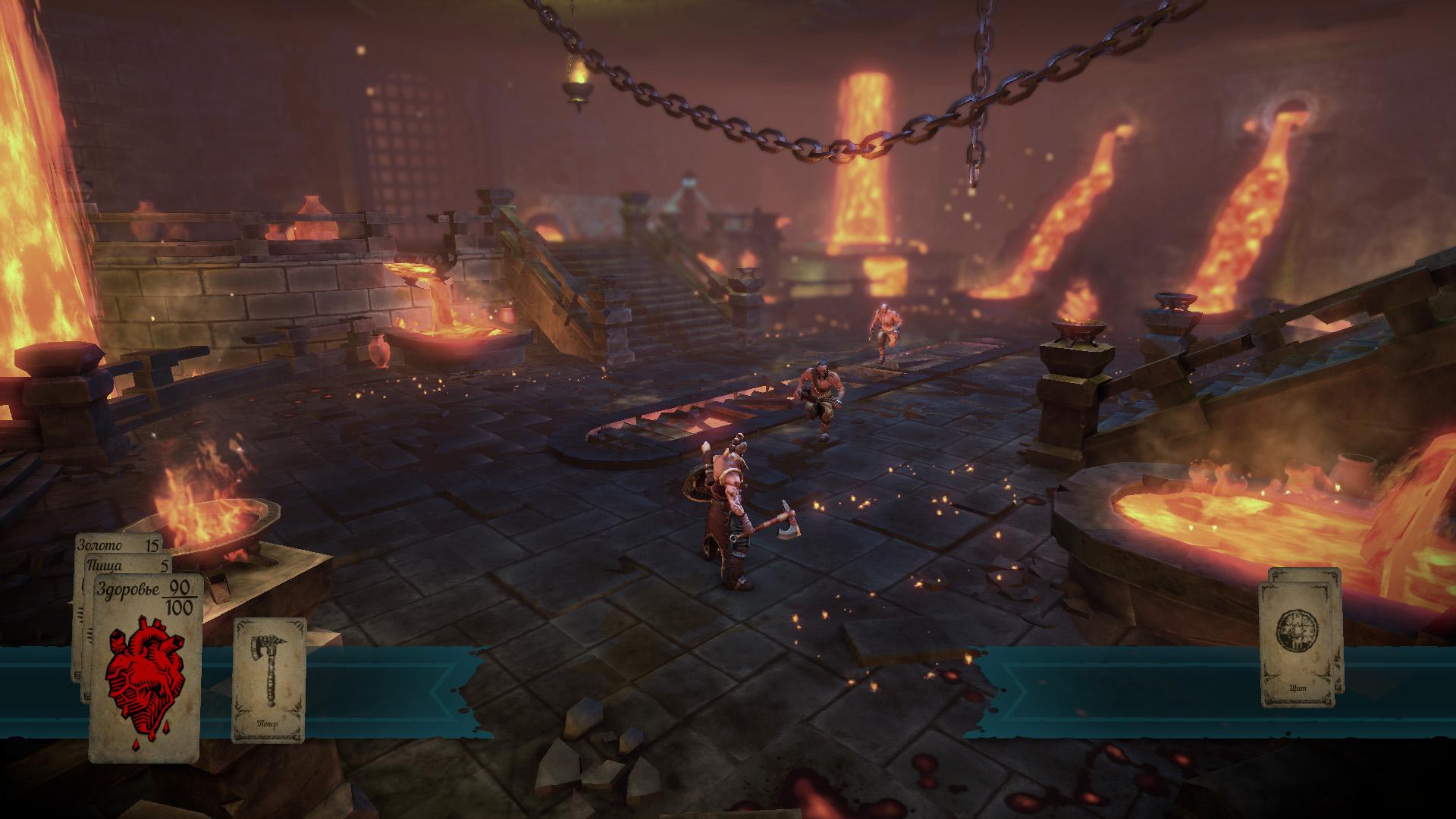 Скриншот Hand of Fate [v 1.3.20 + 1 DLC] (2015) PC