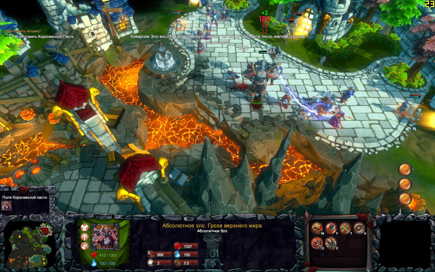 Скриншот Dungeons 2 [Update 7] (2015) PC