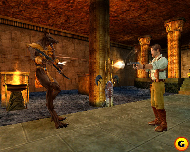 Скриншот The Mummy (2000) PC