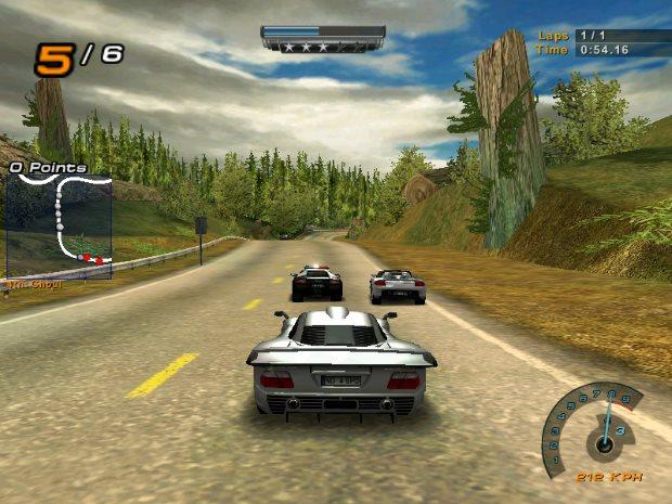 Скриншот Need for Speed: Hot Pursuit 2 (2002) PC | RePack от R.G. Механики