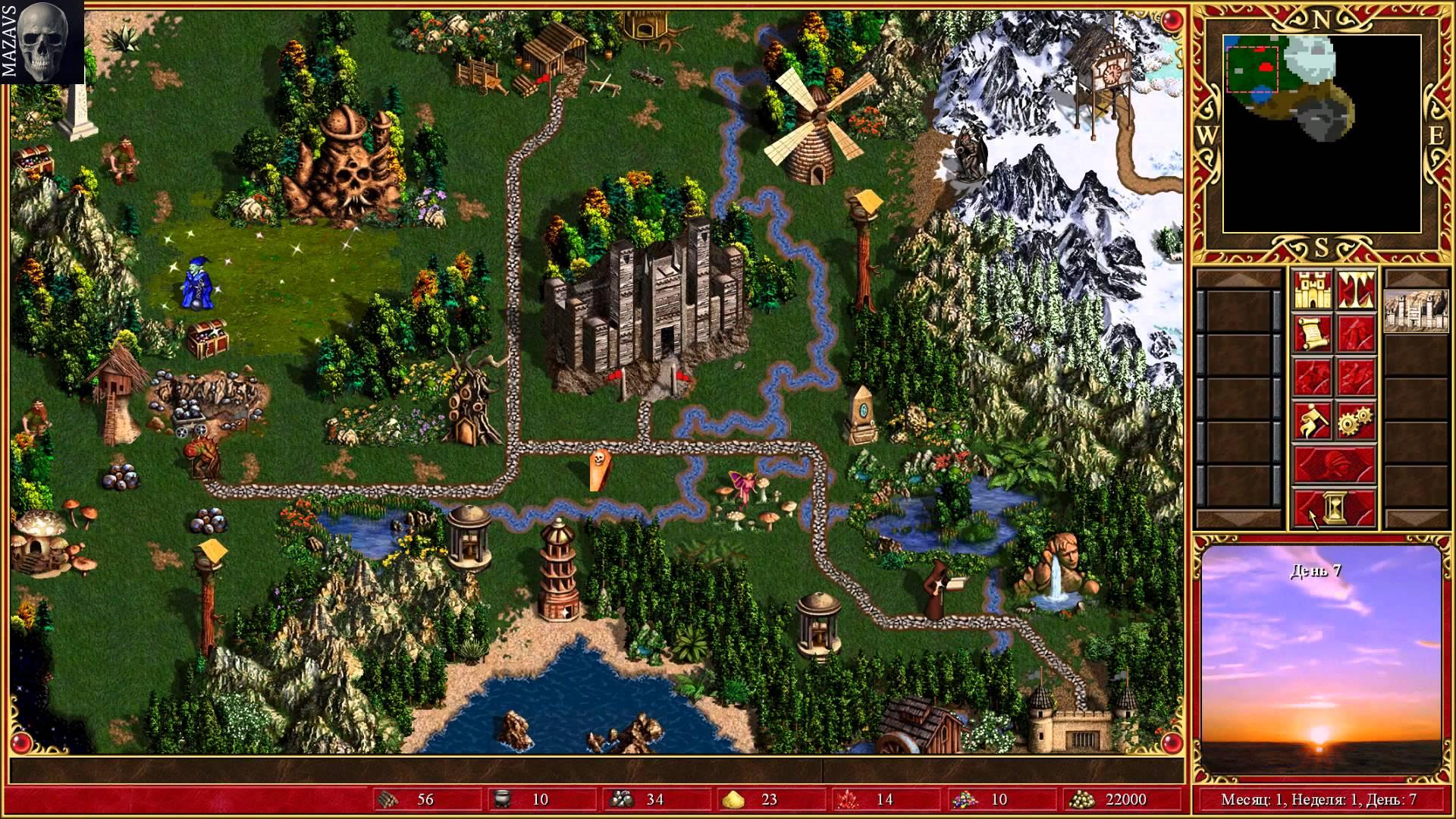 Скриншот Heroes of Might & Magic 3: HD Edition [Update 4] (2015) PC   RePack от R.G. Механики