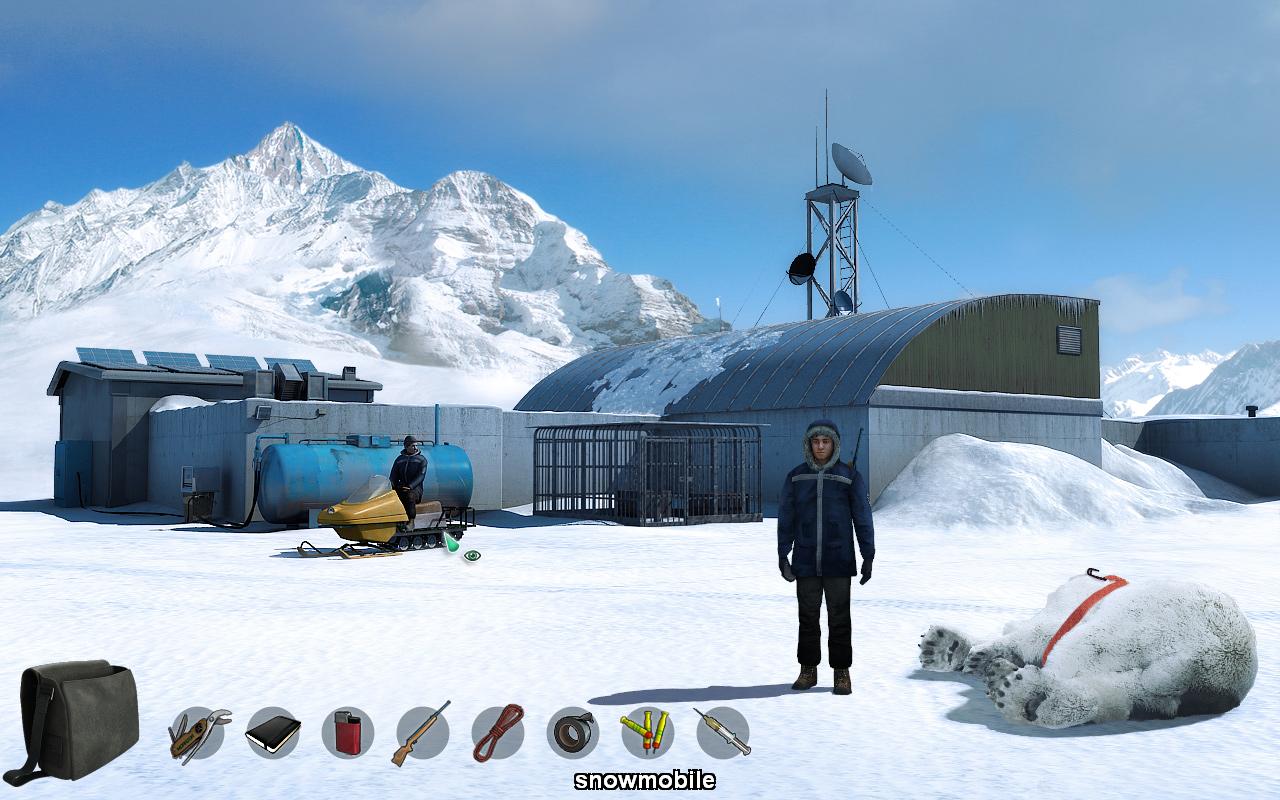 Скриншот Alpha Polaris: A Horror Adventure Game - Steam Edition (2015) PC