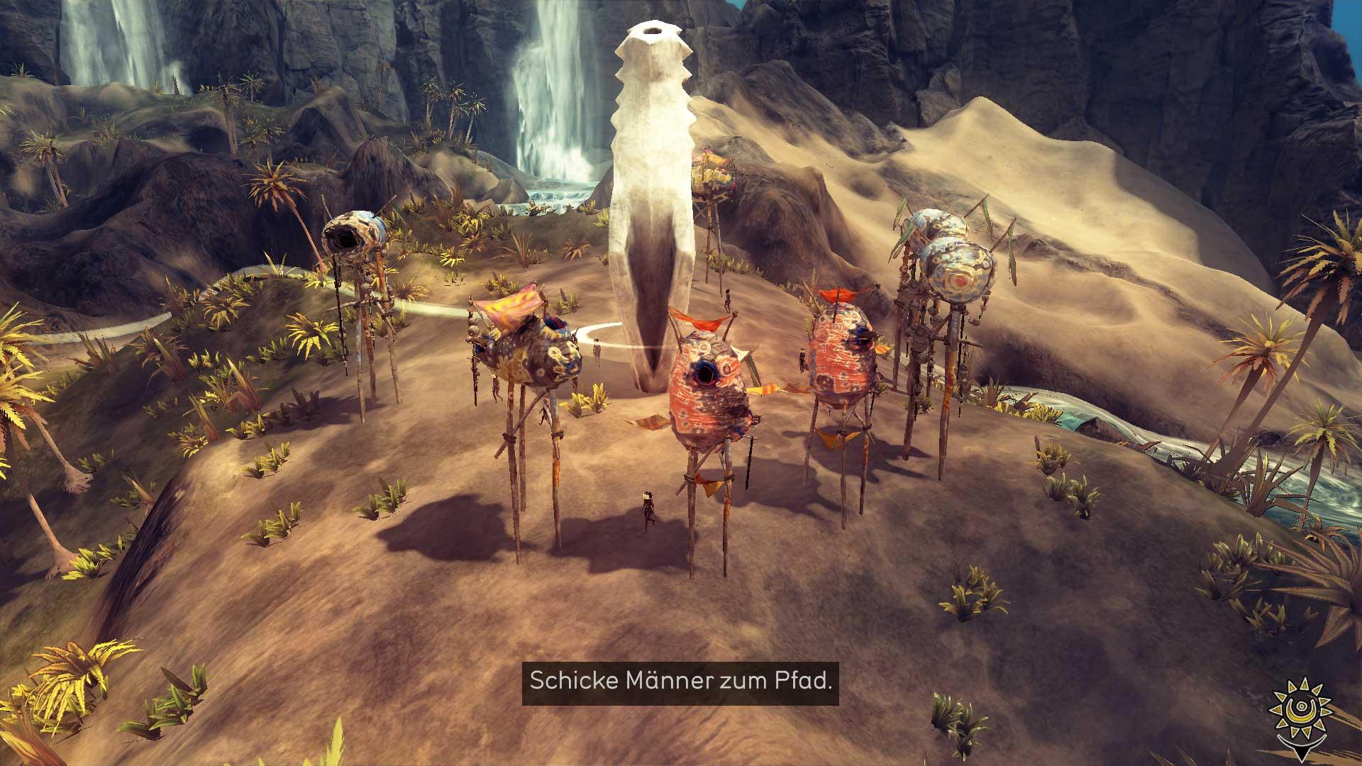 Скриншот From Dust (2011) PC   RePack от R.G. Механики