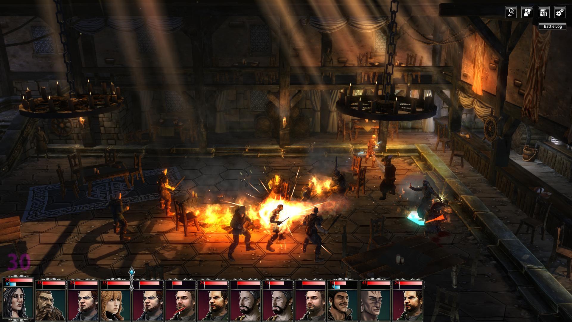 Скриншот Blackguards [v.1.7.23231 + DLC] (2014) PC