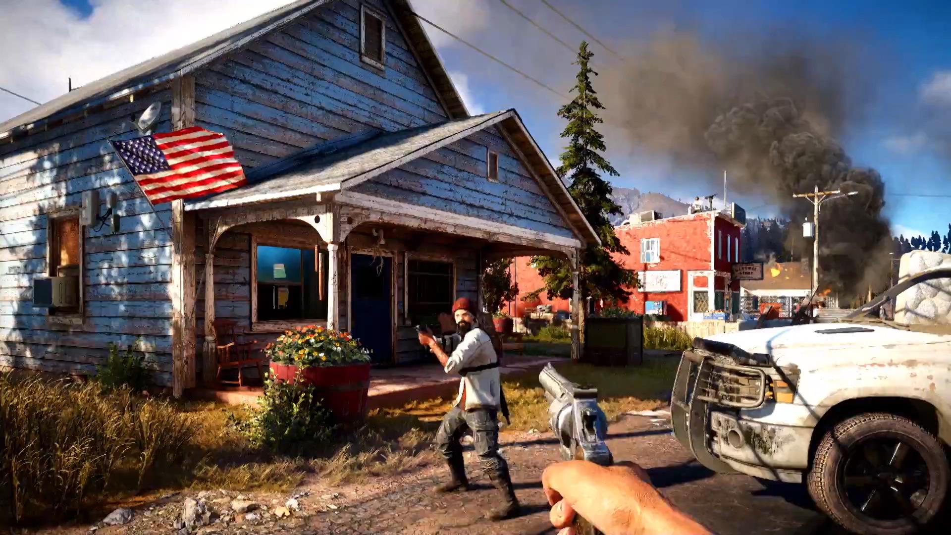 Скриншот Far Cry 5 (2018) PC