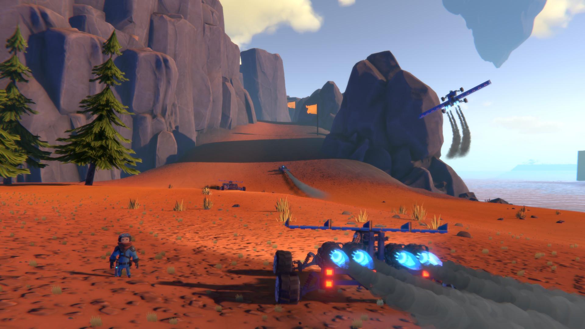 Скриншот Trailmakers (2017) PC