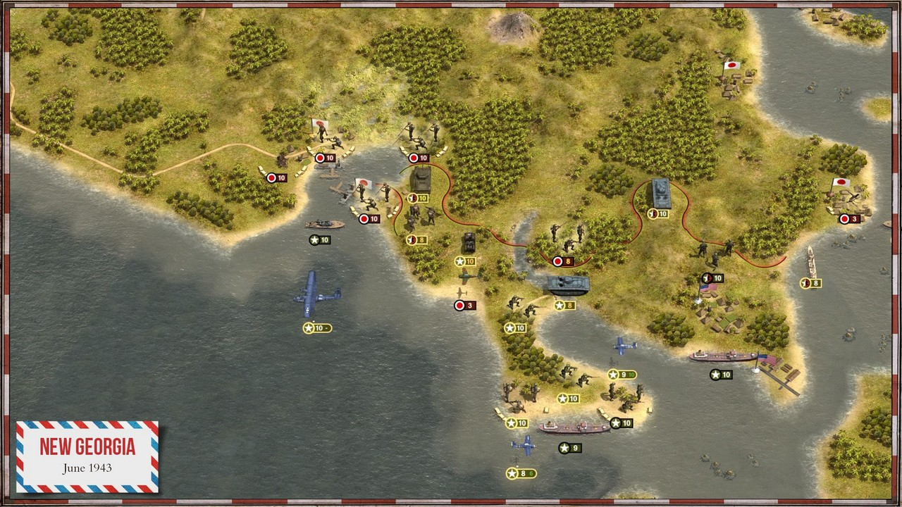 Скриншот Order of Battle: Pacific (2015) PC