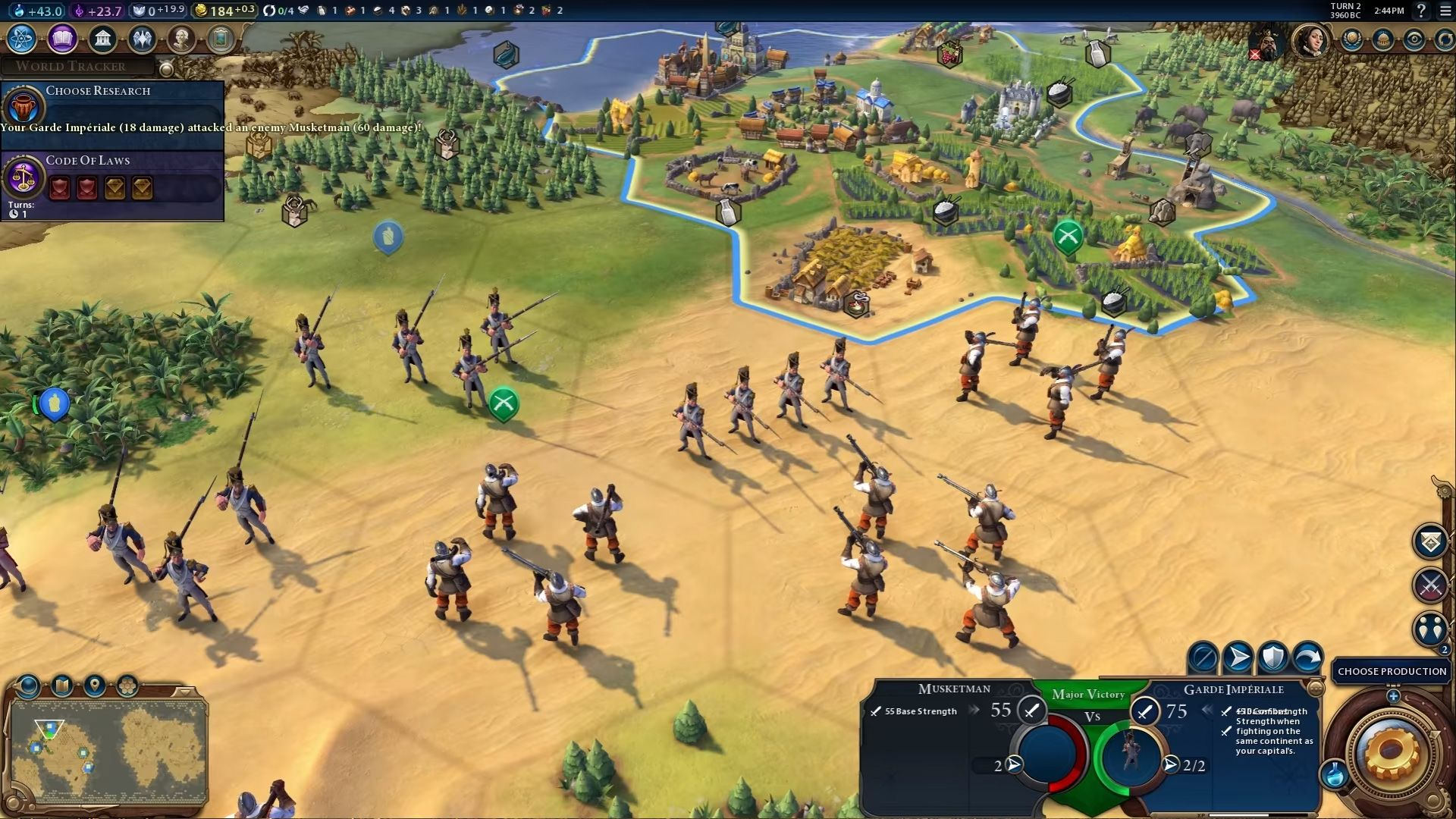 Скриншот Sid Meier's Civilization 6 (2016) PC