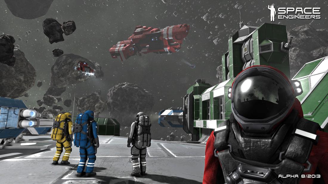 Скриншот Космические Инженеры / Space Engineers [v 01.175] (2014) PC