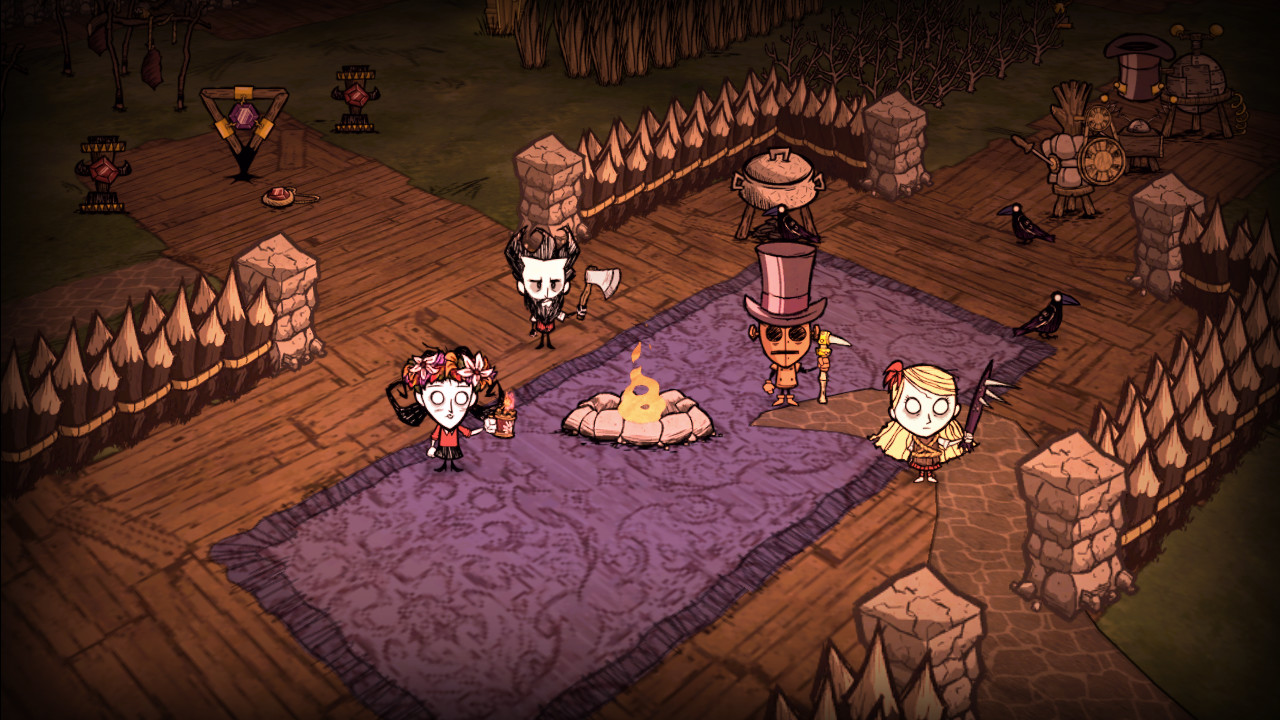 Скриншот Don't Starve Together v205658 (2016) PC
